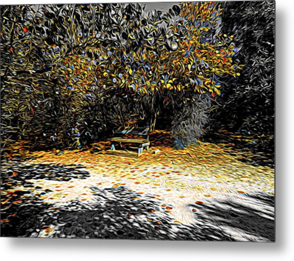 Resting Reflections Metal Print
