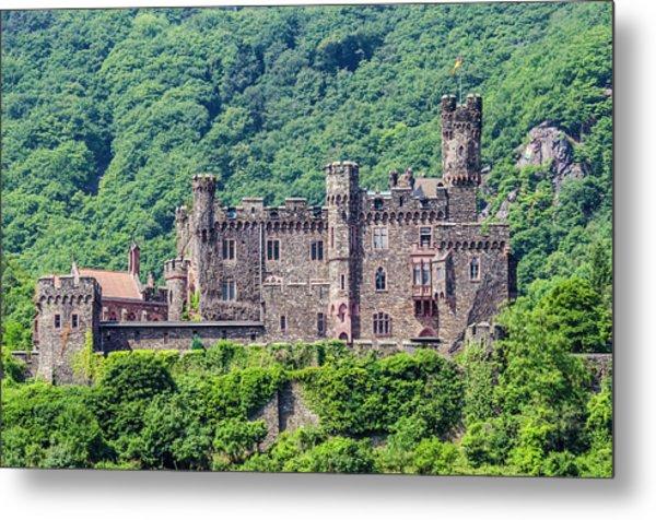 Rheinstein Castle - 2 Metal Print