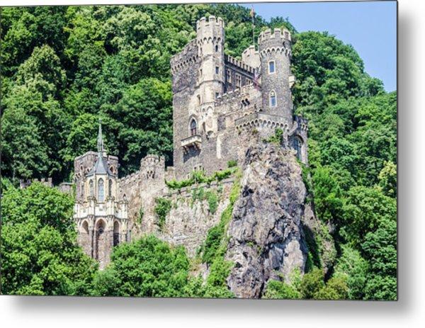 Rheinstein Castle Metal Print