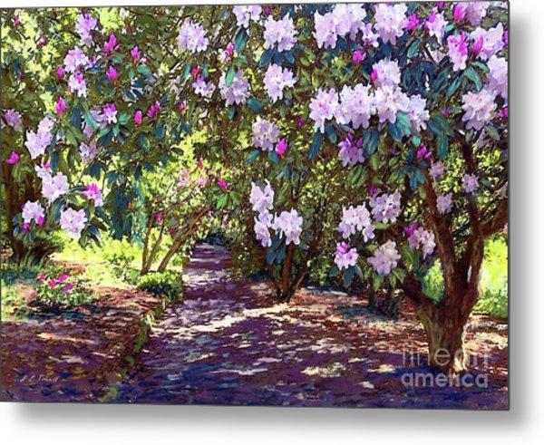 Rhododendron Garden Metal Print