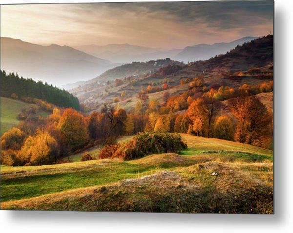 Rhodopean Landscape Metal Print by Evgeni Dinev Photography