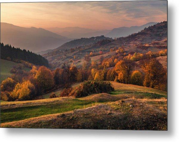 Rhodopean Landscape Metal Print