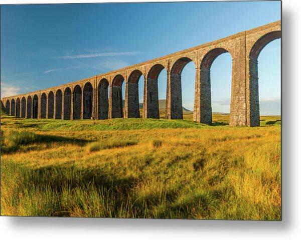 Ribblehead Viaduct Metal Print by David Ross