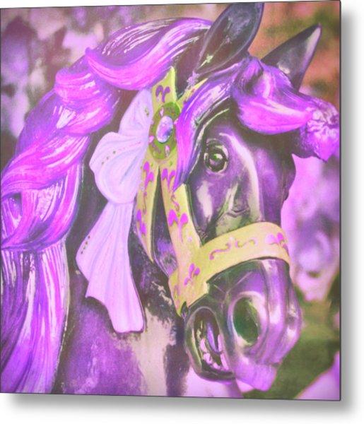 Ride Of Old Purples Metal Print