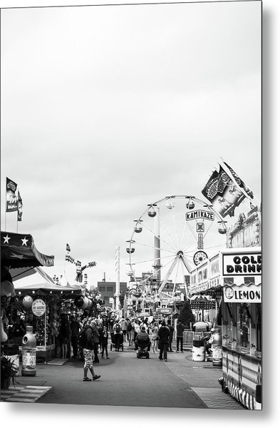 Metal Print featuring the photograph Rides by Whitney Leigh Carlson