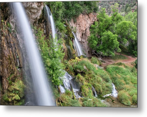 Rifle Falls Metal Print