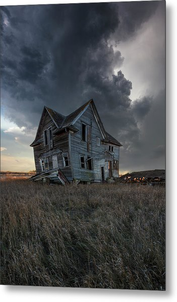 Metal Print featuring the photograph Right Where It Belongs by Aaron J Groen