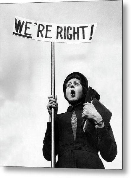Righteous Metal Print by John Chillingworth