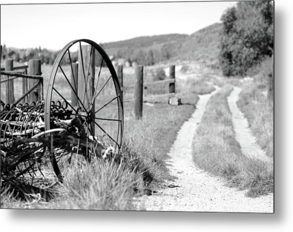 Road Home Metal Print by Dana Klein