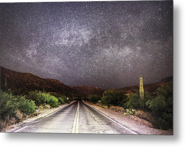 Metal Print featuring the photograph Road To The Stars by Chance Kafka