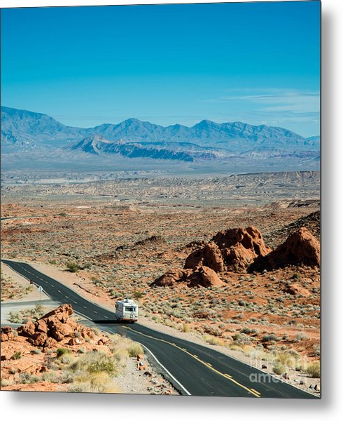 Road Trip Adventure Metal Print