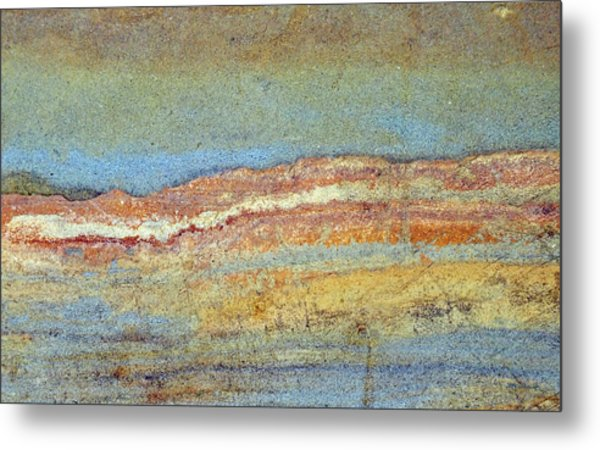 Rock Stain Abstract 3 Metal Print