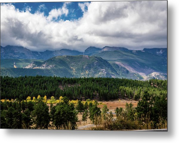 Metal Print featuring the photograph Rocky Foothills by James L Bartlett