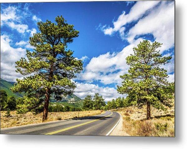 Metal Print featuring the photograph Rocky Mountain Highway by James L Bartlett