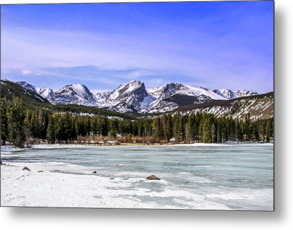Metal Print featuring the photograph Rocky Mountain Lake by Dawn Richards