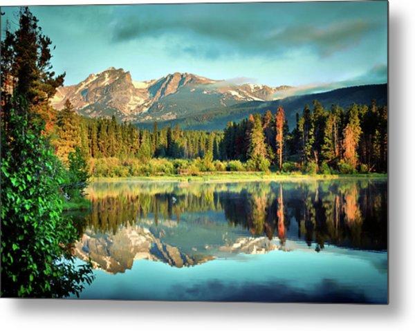 Rocky Mountain Morning - Estes Park Colorado Metal Print