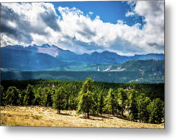 Metal Print featuring the photograph Rocky Mountain Np I by James L Bartlett