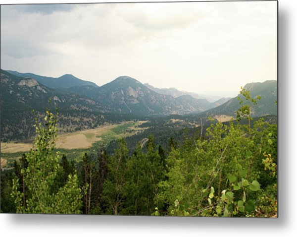 Rocky Mountain Overlook Metal Print