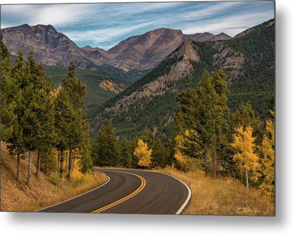 Metal Print featuring the photograph Rocky Mountain Road Trip by Darlene Bushue
