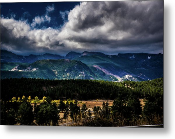 Metal Print featuring the photograph Rolling Rockies by James L Bartlett
