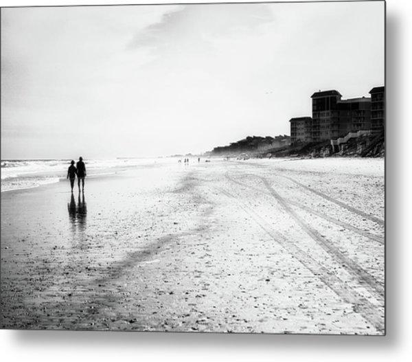 Romance On The Beach Metal Print