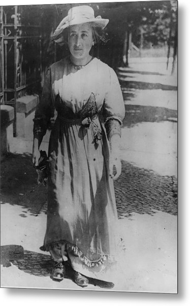 Rosa Luxemburg Metal Print by Henry Guttmann Collection