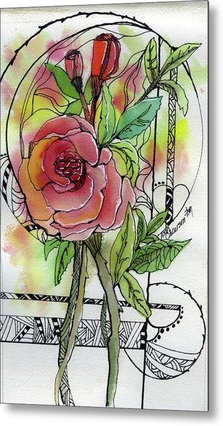 Rose Is Rose Metal Print