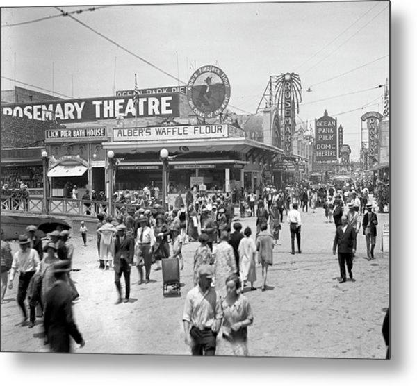 Rosemary Theater Santa Monica Metal Print