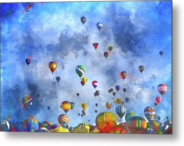 Rough Air Metal Print