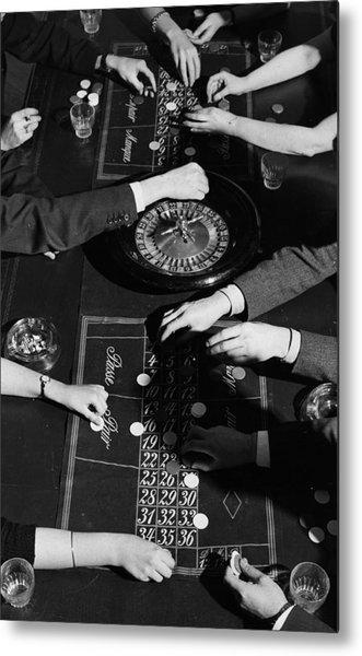 Roulette Metal Print