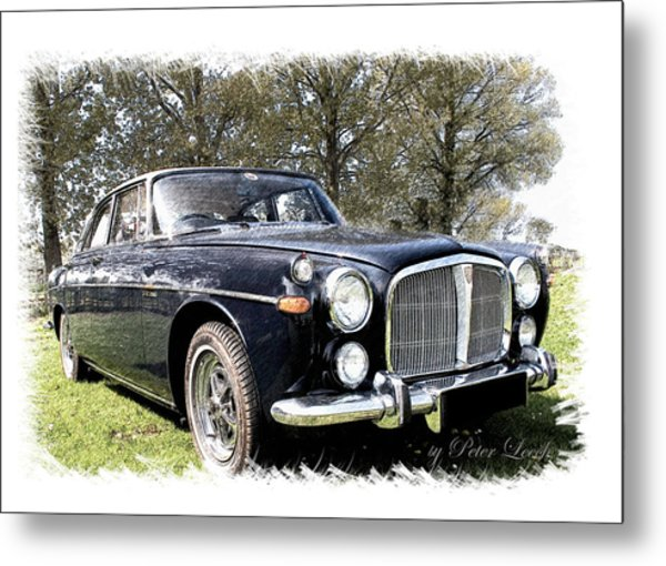 Rover 3.5 Coupe Metal Print