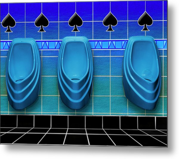 Royal Flush Metal Print