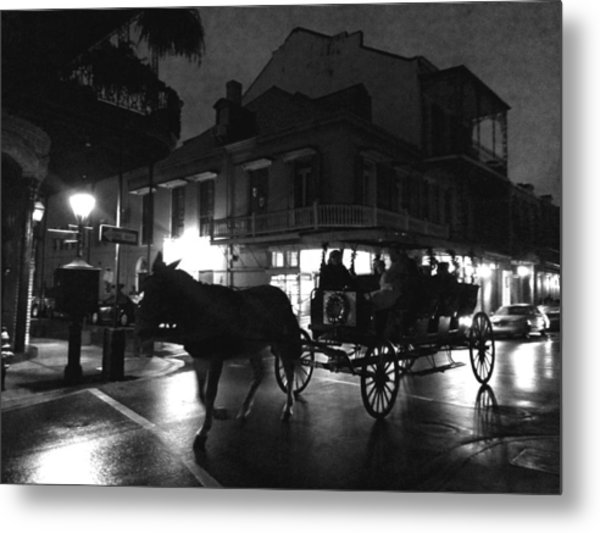 Metal Print featuring the photograph Royal Street by Amzie Adams