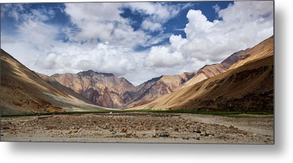 Rugged Himalayan Mountains Metal Print