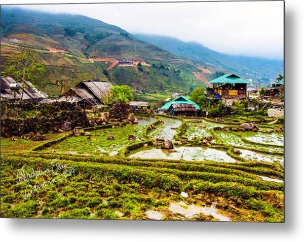 Sa Pa, Vietnam Landscape Metal Print