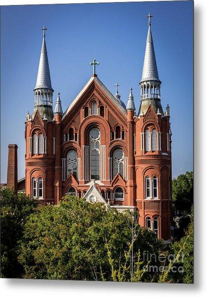 Sacred Heart Cultural Center - Augusta Ga Metal Print