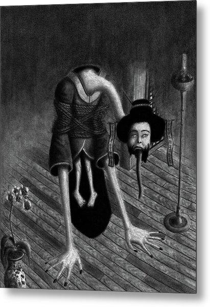 Sacrificed Concubine Ghost - Artwork Metal Print