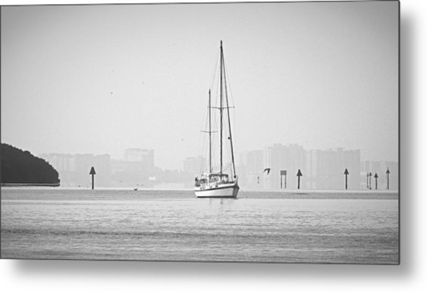 Sail Out Of Sarasota Metal Print