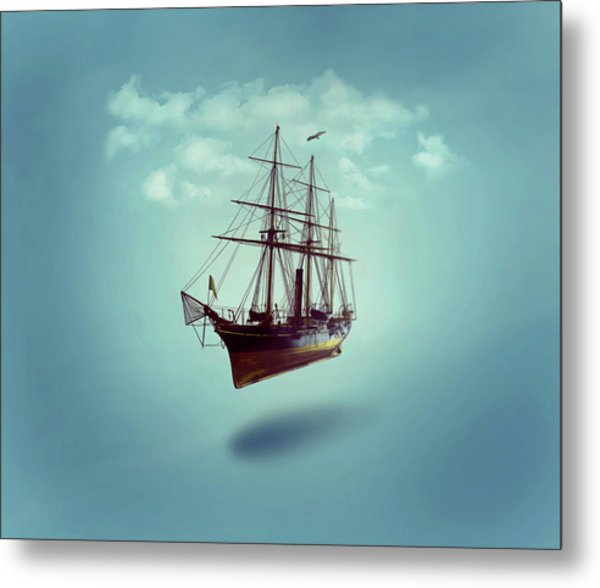 Sailed Away Metal Print