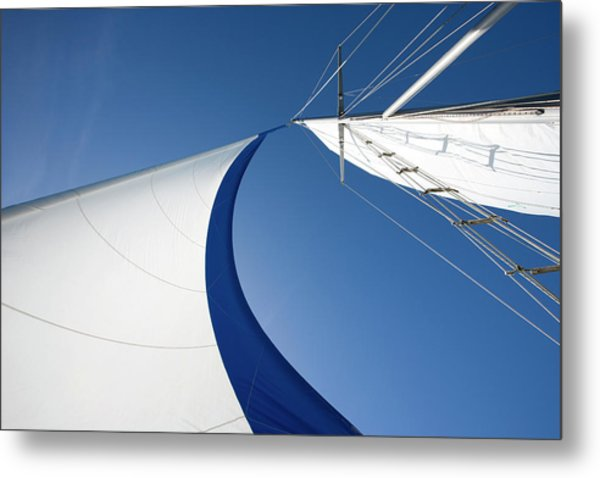 Sailing Metal Print by Tammy616