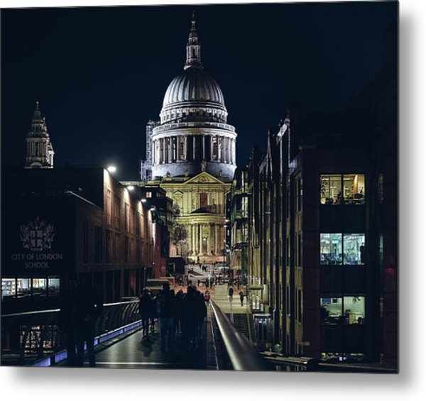 Saint Pauls Cathedral Metal Print
