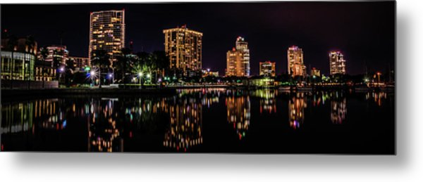 Saint Petersburg Skyline Metal Print