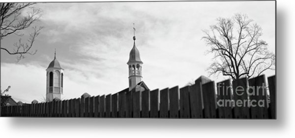 Metal Print featuring the photograph Salem by Patrick M Lynch