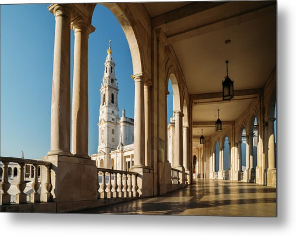 Sanctuary Of Fatima, Portugal Metal Print