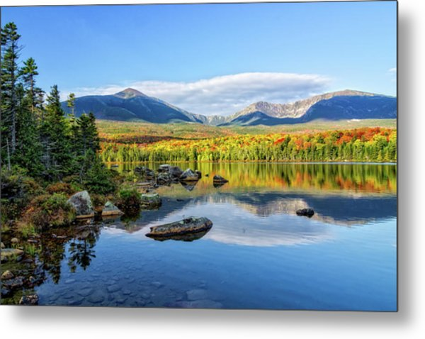 Metal Print featuring the photograph Sandy Stream Pond Baxter Sp Maine by Michael Hubley