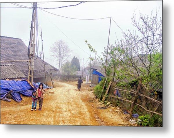 Sapa Sisters, Vietnam Metal Print