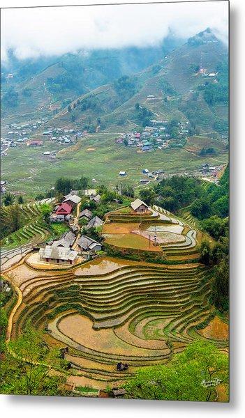 Sapa, Vietnam Landscape Metal Print
