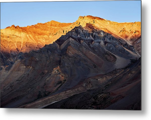 Metal Print featuring the photograph Sarchu Sunrise by Whitney Goodey