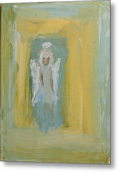 Sassy Frassy Angel Metal Print