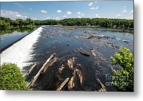 Savannah River Rapids - Augusta Ga Metal Print
